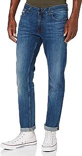 Calvin Klein Jeans 男式修身直筒牛仔裤