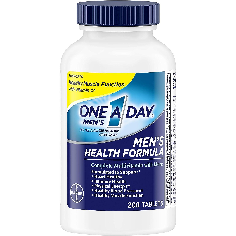 PrimeDay:200片 德国拜耳旗下One A Day 男士维生素片