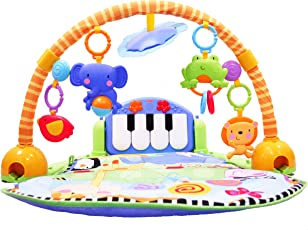 Fisher Price 费雪 欢乐成长之脚踏钢琴健身器W2621
