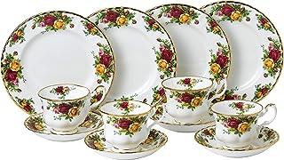 Royal Albert Old Country Roses 茶具套装 多色 Tea Set 12pc Set 40035301
