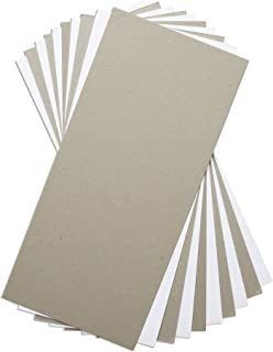 Sizzix 材料 663891,混合媒体板,10 件,多种颜色,白色和灰色,均码
