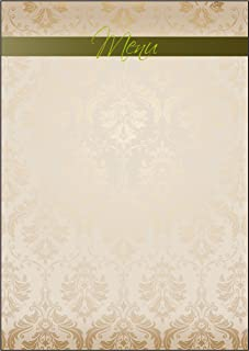 "Sigel dp273主题 - 纸张 "" Menu "" , 文具90克 DIN A4 , 50页"