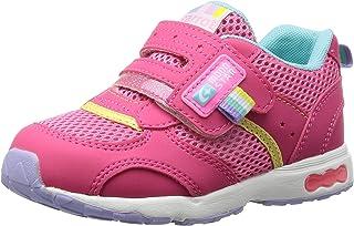 [Carrot] 运动鞋 上学用鞋 4大功能 魔术范围 宽幅 3E 儿童 CR C2146 粉色 19.5 cm 3E