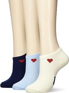 Lee运动鞋/心形一点袜 3双装/女款/23-25cm Lee(李) 混装 A 日本 (Free 尺码)