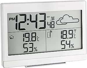Blooming Weather 35.1135.01 Casa 无线气象站,带外壳 - 黑色 4.80x14.10x10.00 cm 白色 35.1135.02