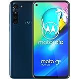 Motorola Moto G8 Power(64GB,4GB RAM)6.4 英寸双卡 GSM 工厂解锁,美国和全球 4G LTE 国际版 - XT2041-1PAHE0017SV  Moto G8 power - Blue - International - 2020