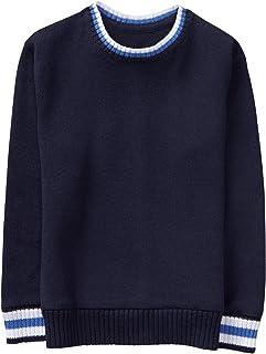 Gymboree 男童条纹装饰毛衣