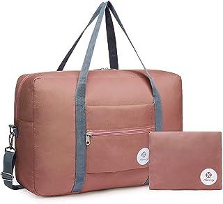 Wandf 可折叠旅行行李袋运动健身房防水尼龙