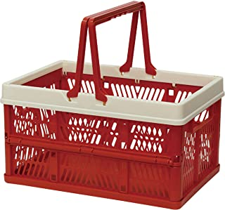 折叠 堆叠 容器盒 红色 Large 400730001