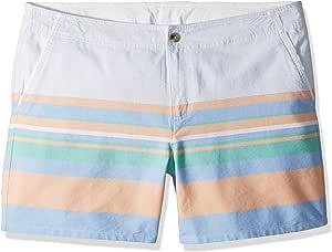 "Columbia Solar Fade Plus 尺码短裤 16 Wide x 4"" 橙色 1538572"