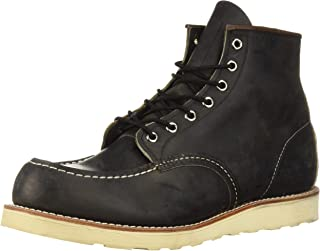 """Red Wing Heritage Moc 6"""" Boot, Charcoal Rough And Tough, 11 M US"""