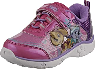 Nickelodeon Paw Patrol 女童发光轻便运动鞋(幼儿/小童)