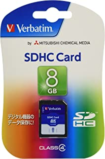 三菱化学媒体 Verbatim SDHC存储卡 8GB Class4 SDHC8GYVB2