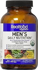 Country Life Realfood Organics 男士日常营养品 - 60 片