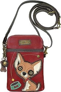 Chala Chihuahua Cellphone Crossbody Handbag - Convertible Strap