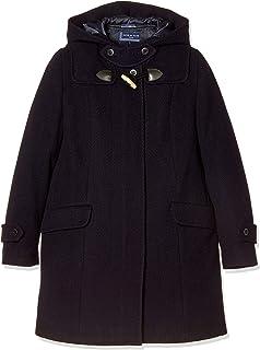 [橄榄球场] 橄榄球学校 人字呢短大衣[深蓝色] 女孩 1J90010-88