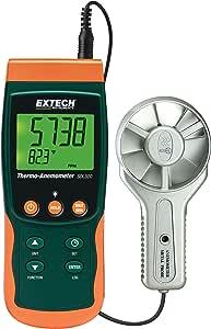 Extech 金属花瓶 Thermo-Anemometer Sd 记录器 带喷头 SDL300