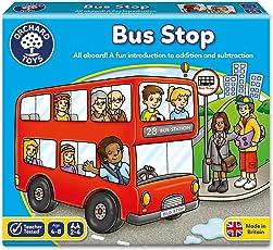 Orchard Toys 桌面游戏 巴士站(亚马逊进口直采,英国品牌)