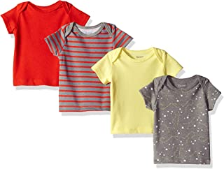 Hanes Ultimate Baby Flexy 4 件装短袖圆领 T 恤