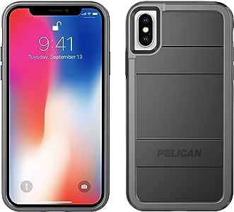 Pelican Protector iPhone X 手机壳C37000-000A-BKLG Black/Light Grey