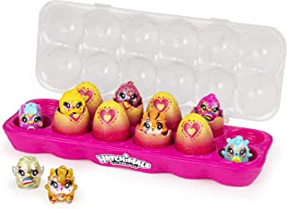 Hatchimals CollEGGtibles,Limmy Edish Glamfetti 魔法蛋套装,12个