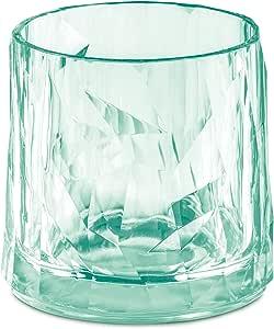 koziol 玻璃 250 毫升 CLUB NO. 2,超玻璃 Transparent Jade Glas 250ml 3402653