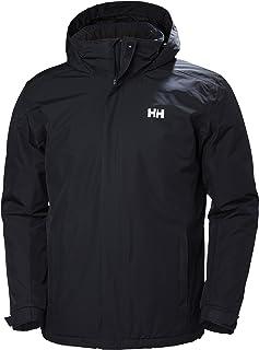 Helly Hansen 男式防水Dubliner 保暖夾克,寒冷天氣可收納兜帽