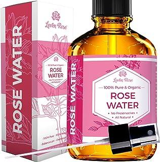 #1 值得信赖的玫瑰水 - * *天然摩洛哥玫瑰水(不含化学成分)- 118 毫升 4盎司