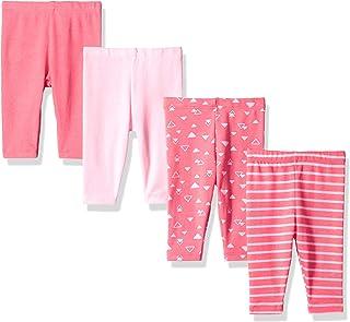 Hanes Ultimate Baby Flexy 4 条装针织长裤