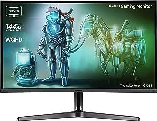 三星 LC32JG52QQUXEN 80.01 厘米(31.5 英寸)曲线游戏 LED 显示器 深银色