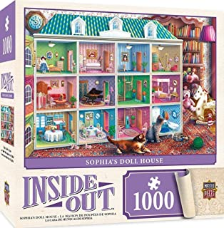 MasterPieces Inside Out Sophia's Dollhouse 拼图,Eduard 出品,1000 片