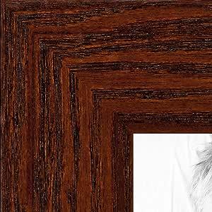 """相框,松木黑着色,3.81 cm 宽 胡桃棕色 7 x 24"""" 2WOM0066-80206-YWAL-7x24"""
