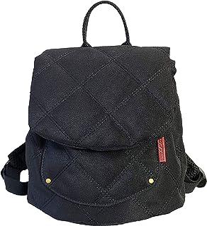 e.x.p.japon婴儿背包绗缝黑色 适*为出生贺礼的可爱背包 迷你背包 1岁生日礼物 一升饼 一生饼 绗缝黑色