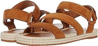 Vince 女式 Elian 帆布便鞋凉鞋