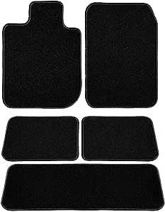 雷克萨斯定制汽车垫套装 Driver, Passenger, 2nd and 3rd Row 黑色 D60636-LSB-BLK