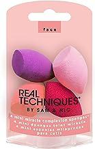 Real Techniques 迷你 MC 化妝海綿(4 件套)不含乳膠 均勻上妝