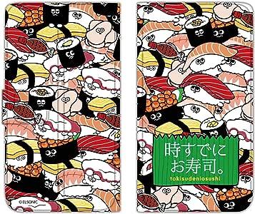 时已经寿司。 保护套薄款印花翻盖寿司充满手机保护壳翻盖式适用于所有机型  寿司いっぱいA 2_ Xperia M5