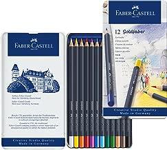 Faber-Castell 輝柏嘉 金色彩色鉛筆 金屬筆桿, 12 Stück Dosen Set, 多種顏色