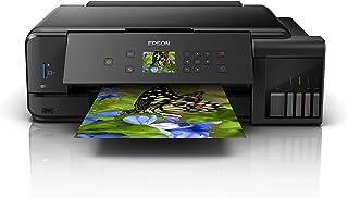 Epson EcoTank ET - 7750 nachfuellbares 3合1喷墨多功能设备 (复印机, 扫描仪, 打印机, DIN A3, 5种颜色, 照片印刷品, Duplex, USB 2.0, 高度范围, 低成本页)