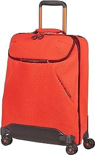 Samsonite 新秀丽 Neoknit 旅行包,旅行包带4轮S(55 cm - 36.5 L) Fluo Red/Port Reisetasche mit 4 Rollen S (55 cm - 36.5 L)