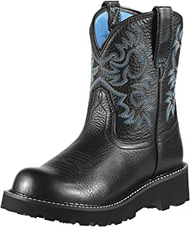 Ariat 女士 牛仔 靴子 pull-on cowboy-boots mid-calf Fatbaby