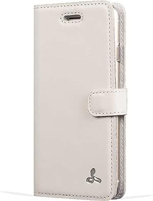 Snakehive Pastel Collection 出品的苹果 iPhone 5/5S/SE 高级粉彩皮革保护套带信用卡/便笺插槽适用于 Apple iPhone 5/5S/SE ()。Apple iPhone 5 / 5S / SE 瓷器色