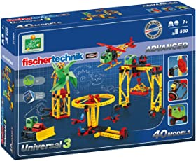 fischertechnik慧鱼高级通用3,建筑模型 - 511931(500片)(适用年龄:7岁+)