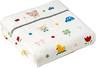 西川产业 babypuff 可洗系列! 毛巾毯 白色 LFY4801024-W LP9020