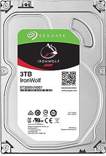 Seagate 巴拉Cuda SSDST3000VN007/FFP HDD : 高耐久・NAS向け HDD : 3TB