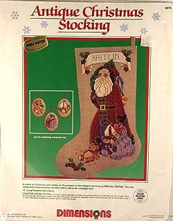 仿古圣诞袜 - 立体十字绣套件 8375