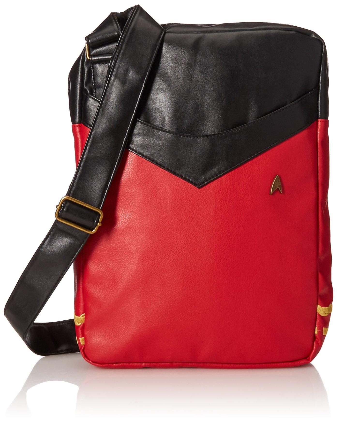 星际迷航制服笔记本电脑包 - 红色