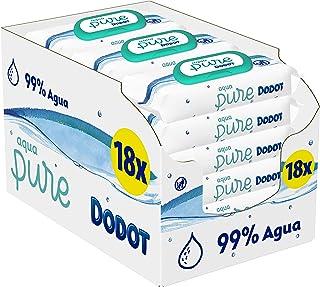 Dodot Aqua Pure 嬰兒濕巾 18 包,864 片裝