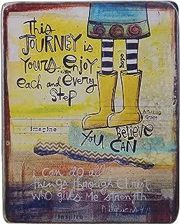 大教堂艺术 The Journey is Yours Plaque