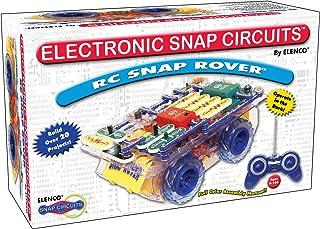 Snap Circuits R / C Snap Rover 电子设备探索套件| 23个有趣的STEM项目| 4色项目手册| 30多个快照模块| 无限乐趣,黑色
